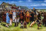 Гуревич Эдуард. Свадьба в еврейской слободке