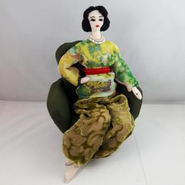 Gershman Marina. Matisse Girl ( ткань / авторская техника / 2019 г. )