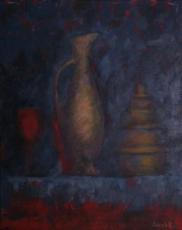 Розенберг Яков. Still Life with Red Glass (  )