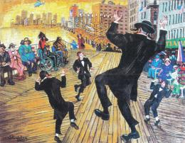 Каплан Самуил. Танец на Бордвоке ( 2003 г. )