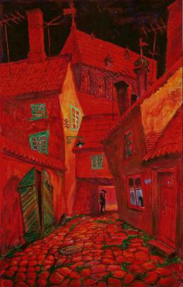 Каплан Самуил. Весенний вечер в Риге ( 1986 г. )