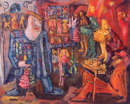 Барштейн Лера. Москва. Лето 1993 г. ( 120x90 см / холст / масло / 1994 г. )