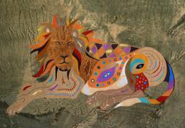 Verhovsky Lora. Lion Gustav ( 90x60 см / другое )