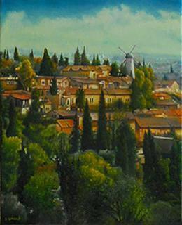 Гуревич Эдуард. Иерусалим.  ( 40x50 см / холст / масло / 2006 г. )