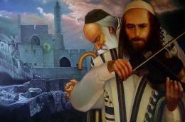 Гуревич Эдуард. Элегия о Иерусалиме. ( 120x80 см / холст / масло / 2005 г. )