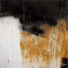 Чак Лилия. Rust #1. ( 120x120 см / смешанный / смешанная техника / 2008 г. )