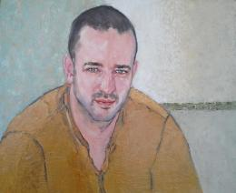 Meshulam Lemkovitch Lubov. Portrait of young man Alexander ( 60x50 см / холст / масло / 2016 г. )